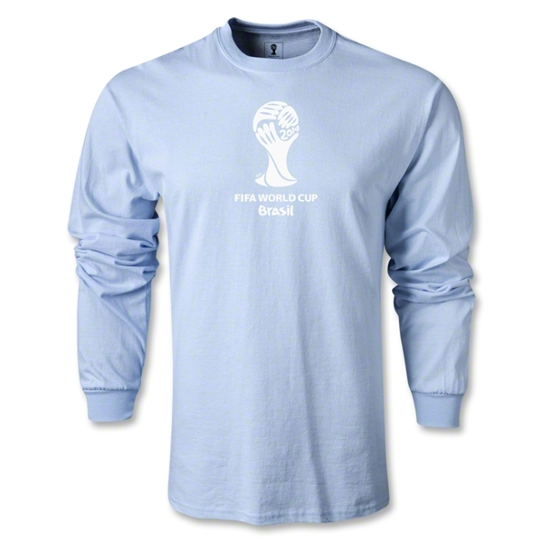 2014 FIFA World Cup Brazil(TM) LS Event Emblem T-Shirt (Sky Blue)