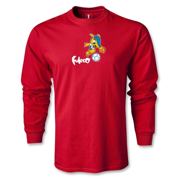 2014 FIFA World Cup Brazil(TM) LS Mascot T-Shirt (Red)