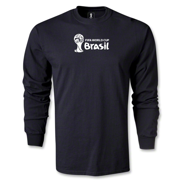 2014 FIFA World Cup Brazil(TM) Landscape LS T-Shirt (Black)