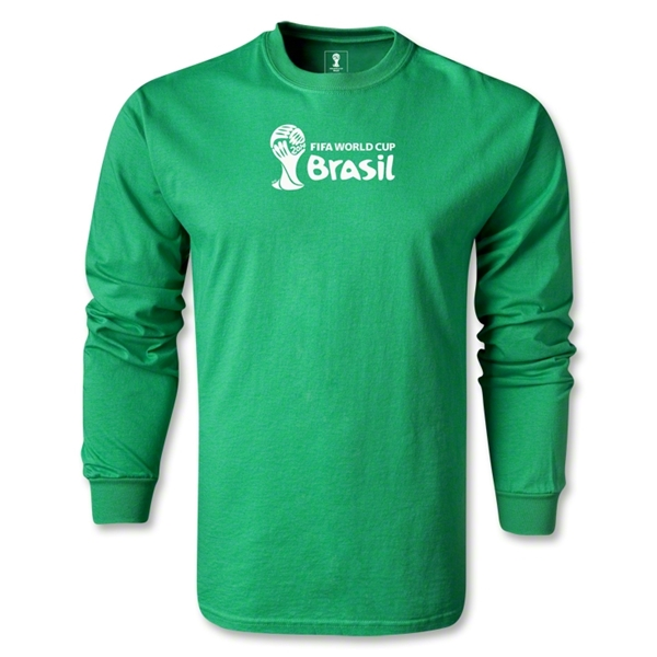 2014 FIFA World Cup Brazil(TM) Landscape LS T-Shirt (Green)