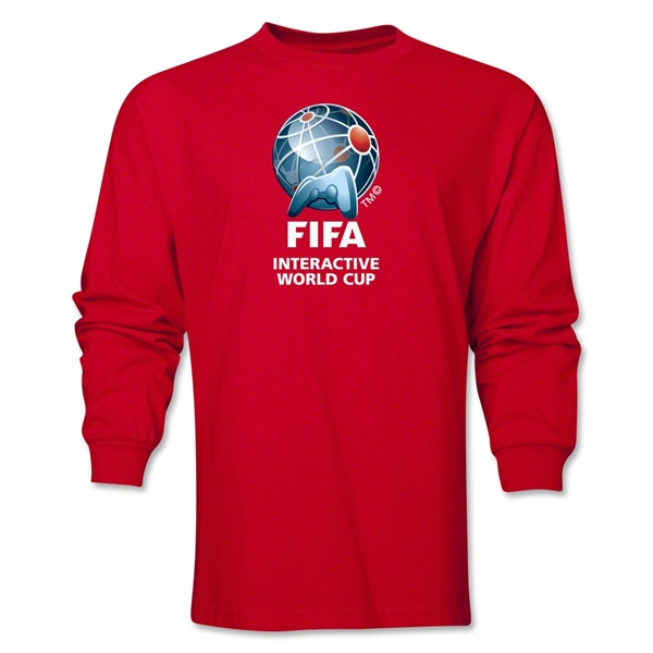 FIFA Interactive World Cup Core Emblem LS T-Shirt (Red)
