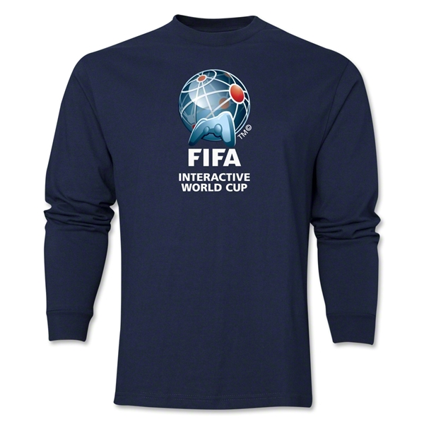 FIFA Interactive World Cup Core Emblem LS T-Shirt (Navy)