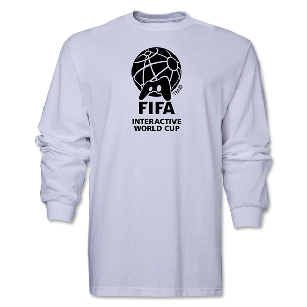 FIFA Interactive World Cup Core Emblem LS T-Shirt (White)