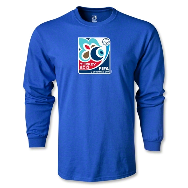 FIFA U-20 World Cup Turkey 2013 LS Emblem T-Shirt (Royal)