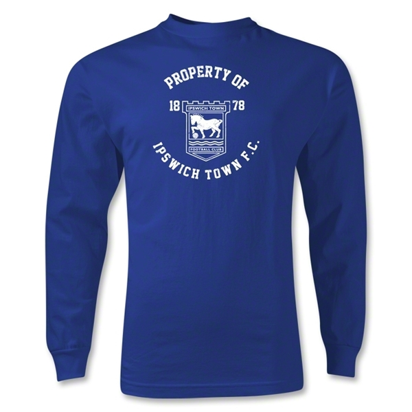Ipswich Property LS T-Shirt (Royal)