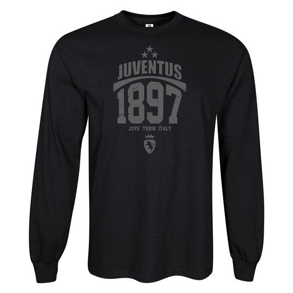 Juventus 1897 LS T-Shirt (Black)