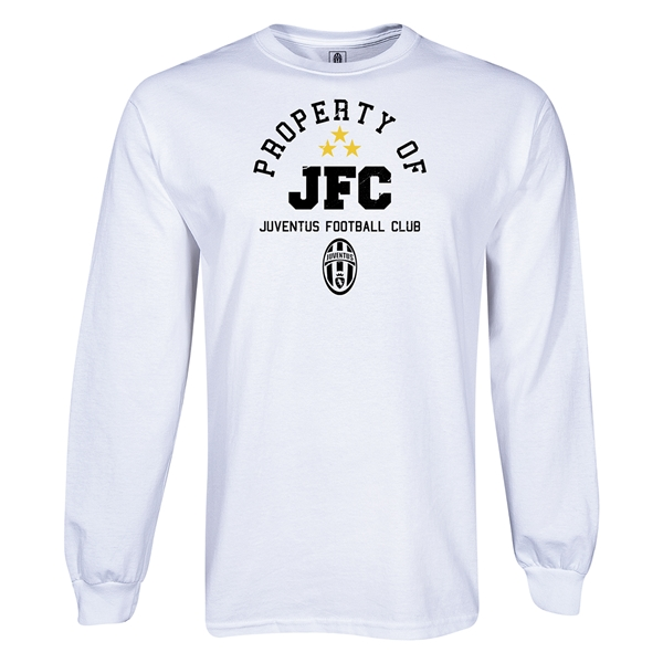 Juventus Property of JFC LS T-Shirt (White)