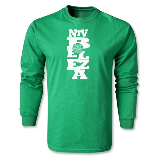 NTV Beleza Graphic LS T-Shirt (Green)
