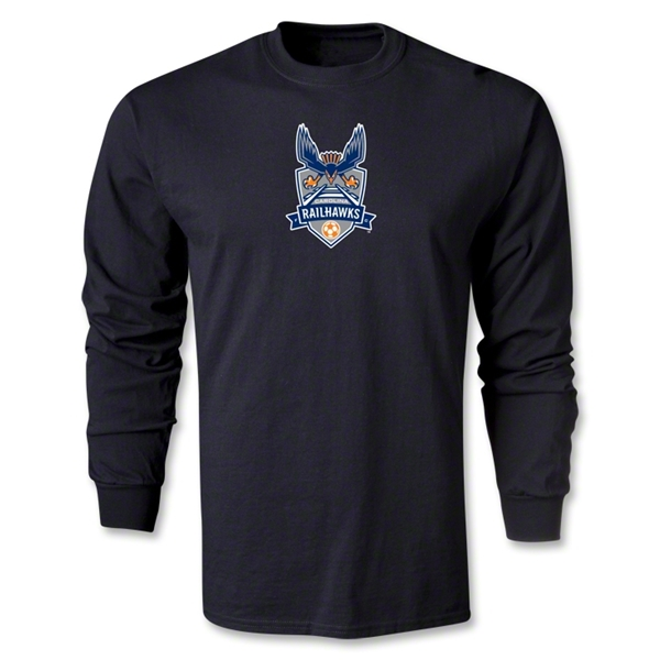 Carolina Railhawks LS T-Shirt (Black)