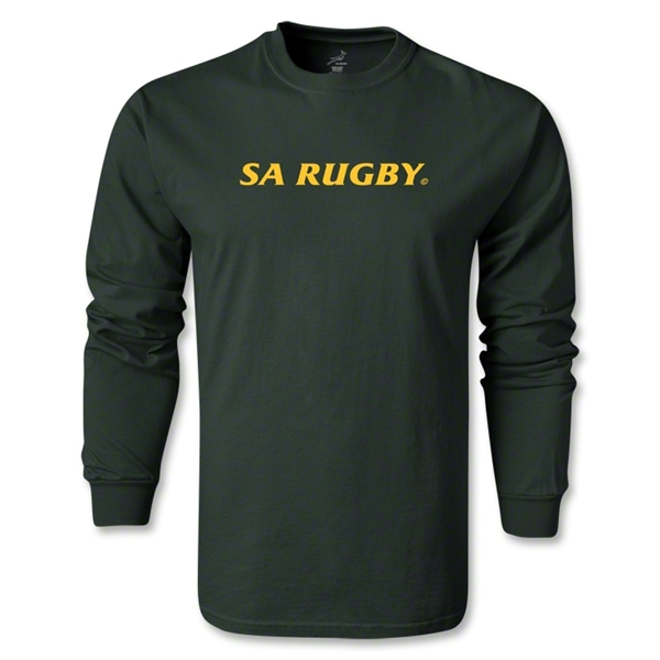 South Africa Springboks LS T-Shirt (Dark Green)