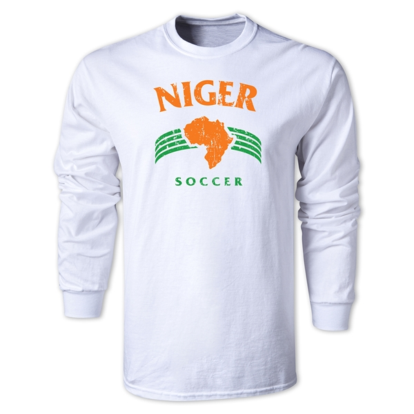 Niger LS Country T-Shirt (White)