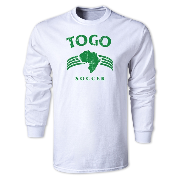 Togo LS Country T-Shirt (White)