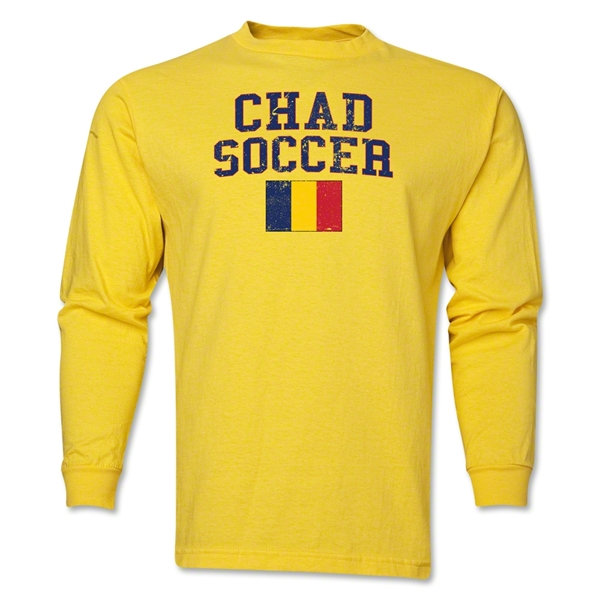 Chad LS Soccer T-Shirt (Yellow)