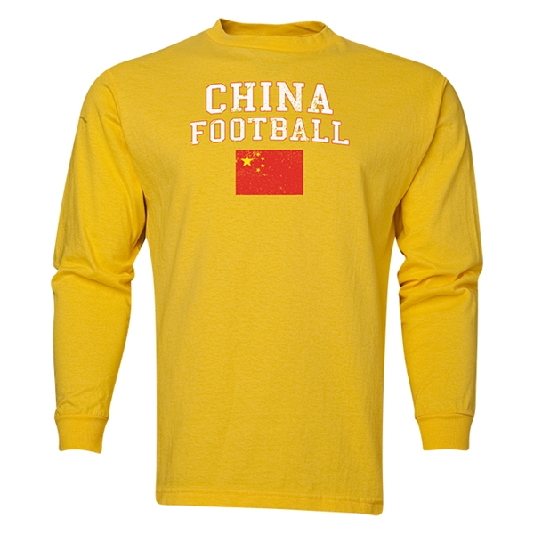 China LS Football T-Shirt (Yellow)