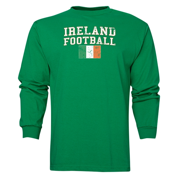 Ireland LS Football T-Shirt (Green)