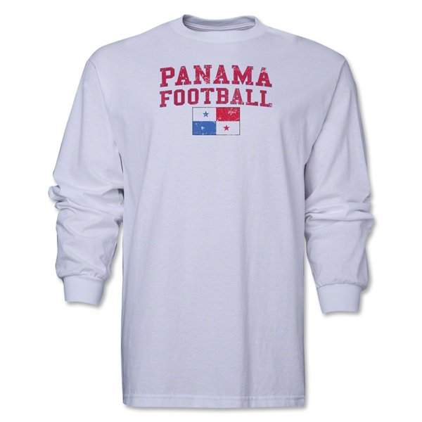 Panama LS Football T-Shirt (White)