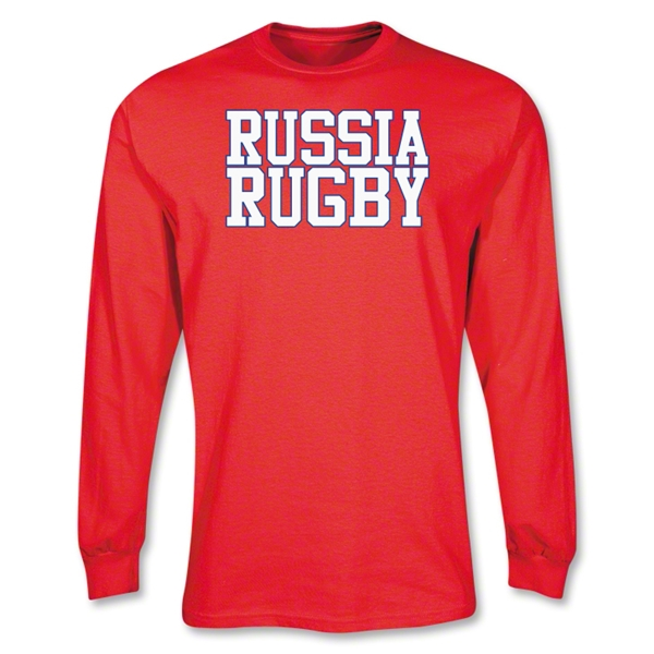 Russia Rugby Supporter LS T-Shirt (Red)