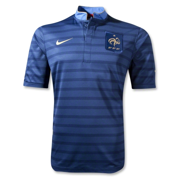 France 12/14 Home Soccer Jersey