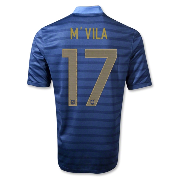 France 12/14 MVILA Home Soccer Jersey