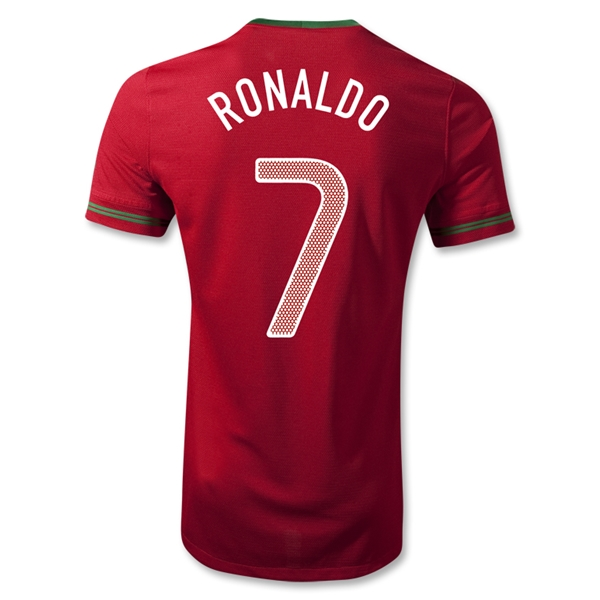 Portugal 12/14 RONALDO Authentic Home Soccer Jersey