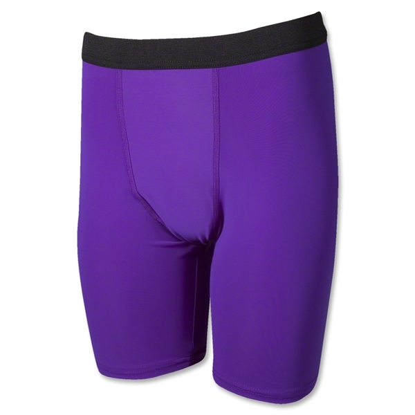 Men's Compression Shorts (Purple)