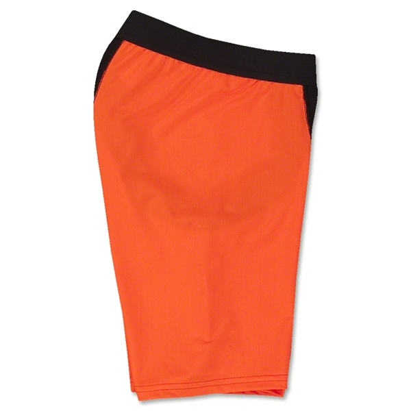 Two-Tone Compression Shorts-7 Inseam (Neon Orange)