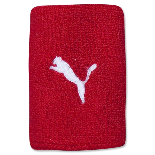 PUMA Team Wristbands (Red)
