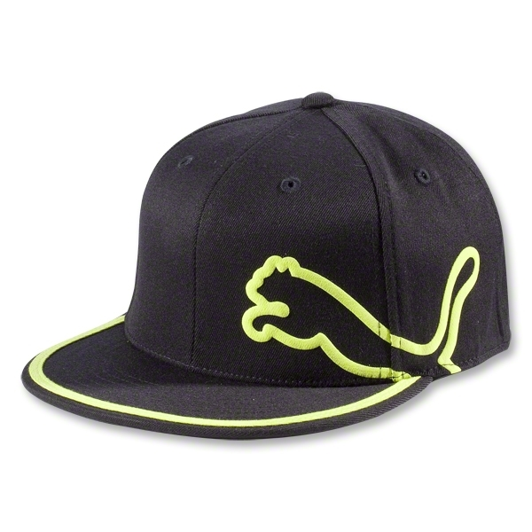 PUMA Monoline 210 Fitted Cap (Green)