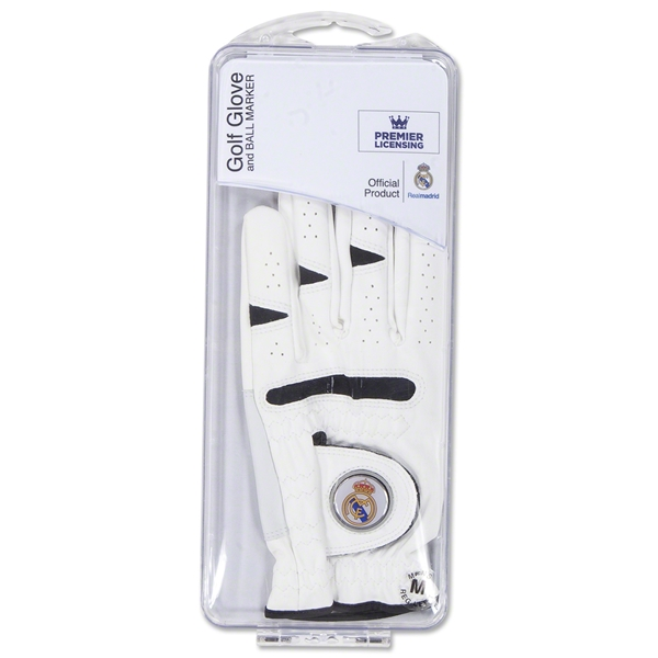 Real Madrid Golf Glove with Ball Marker