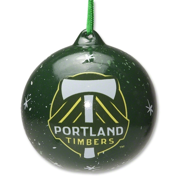 Portland Timbers Holiday Ornament