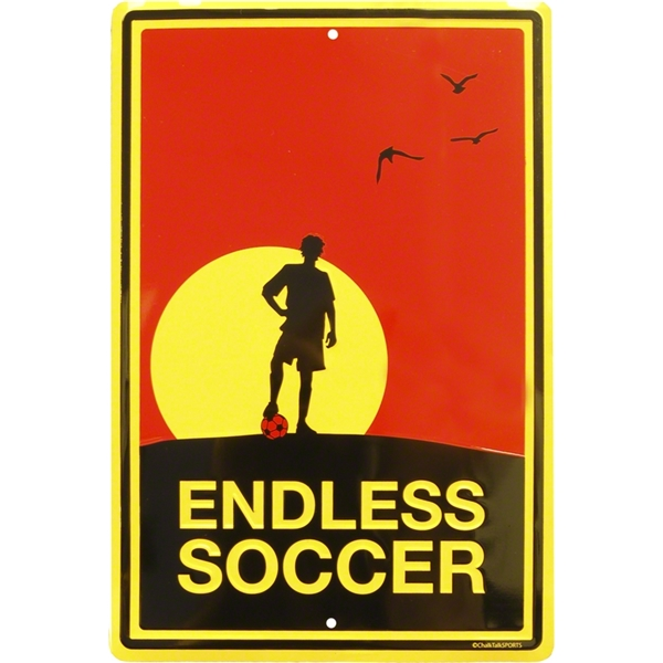 Endless Soccer Sign-Boy