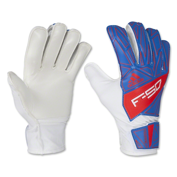 adidas F50 Training Goalkeeping Glove (Prime Blue/Core Energy)