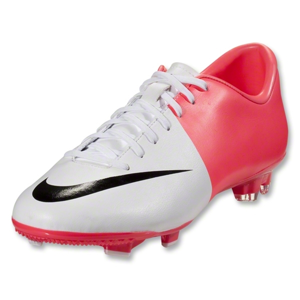 Nike Mercurial Victory III FG (White/Black/Solar Red)