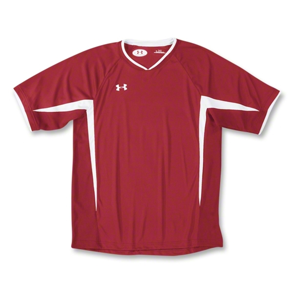 Under Armour Stealth Soccer Jersey (Red)