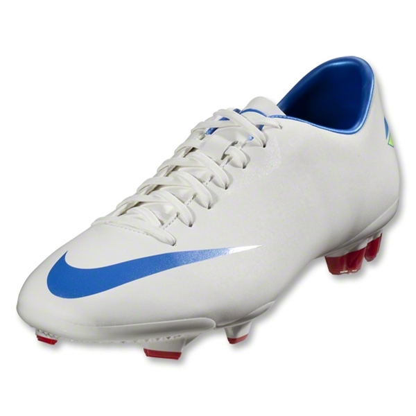 Nike Mercurial Glide III FG Cleats (Sail/Soar/Challenge Red)