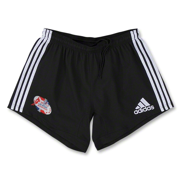 adidas Las Vegas Invitational Three Stripes Short (Black)