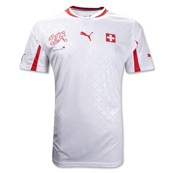 Switzerland 12/14 Away Soccer Jersey