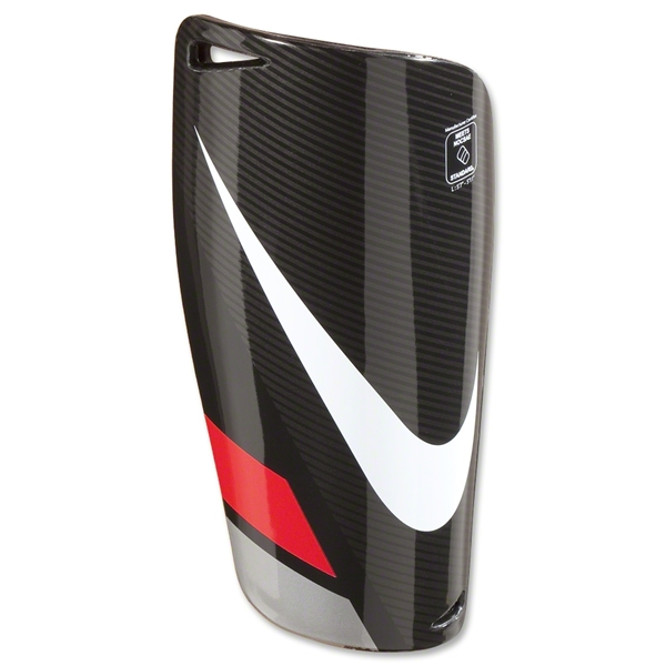 Nike Mercurial Lite Shinguards (Black/Red/White)