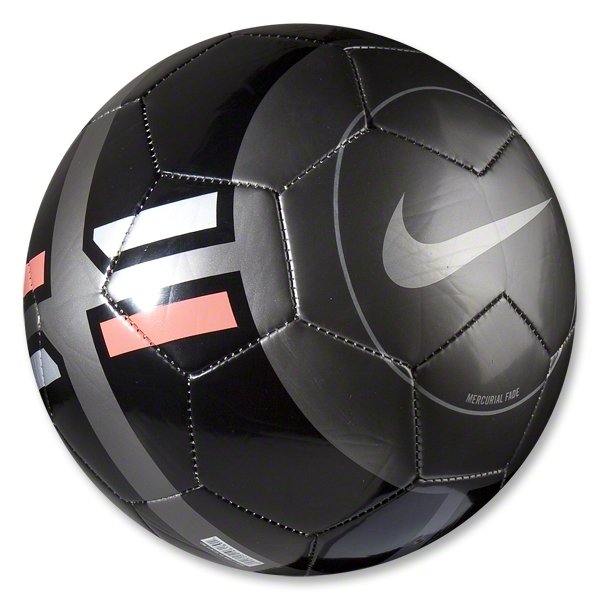 Nike Mercurial Fade Soccer Ball (Anthracite/Black)