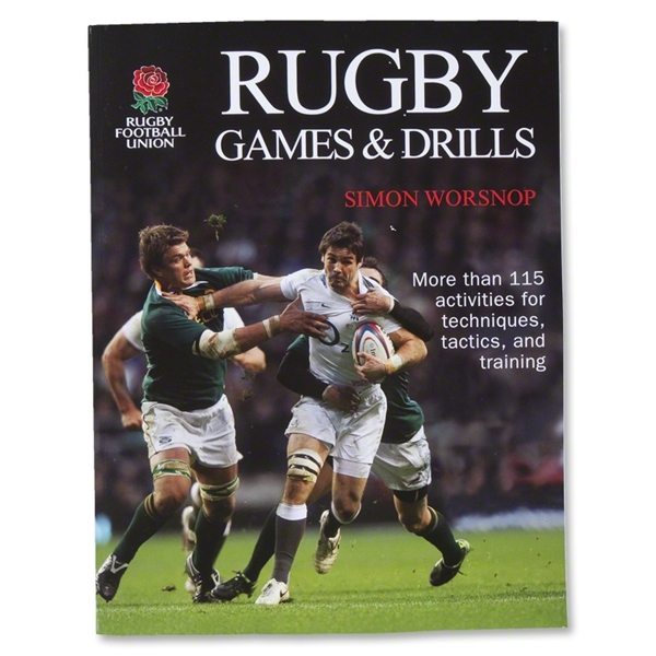 Rugby Games and Drills Book