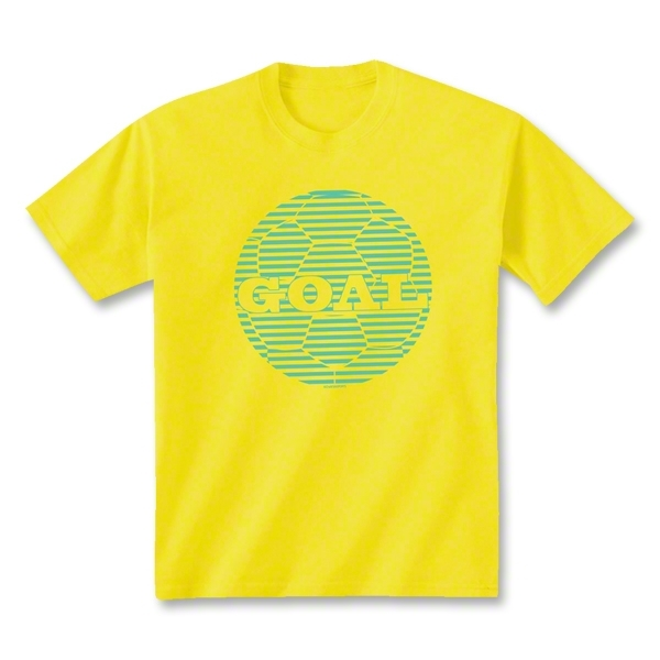 Soccer Goal T-Shirt (Yellow)