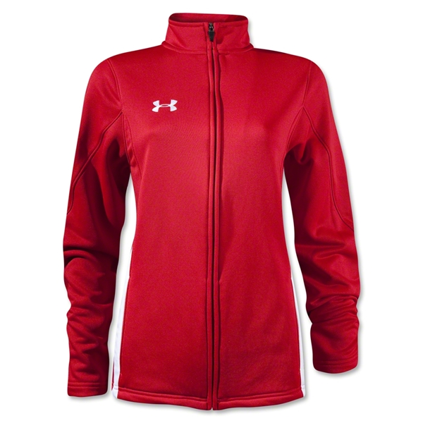Under Armour Women's Classic Warm Up Jacket (Sc/Wh)