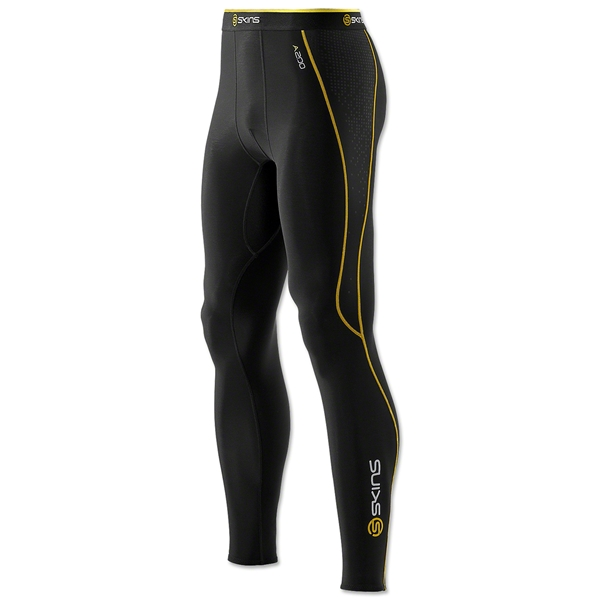 SKINS A200 Thermal Long Tight (Black/Yellow)