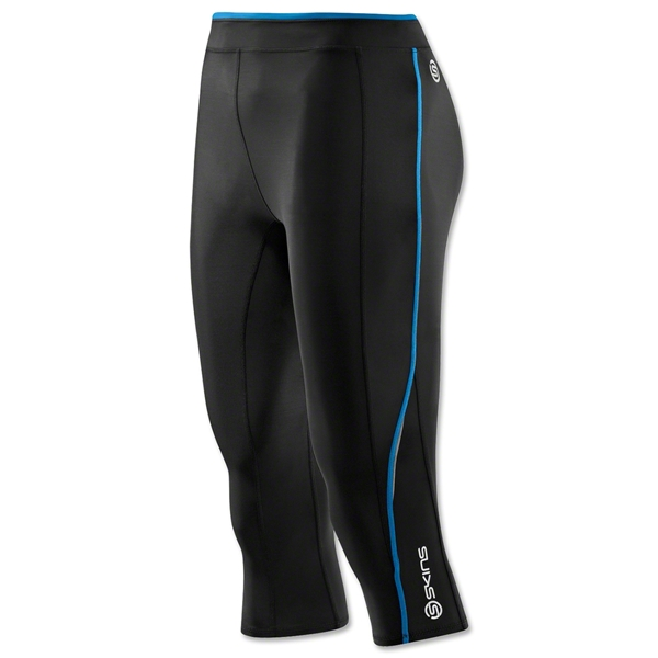 Skins A200 Women's 3/4 Tight (Blk/Royal)