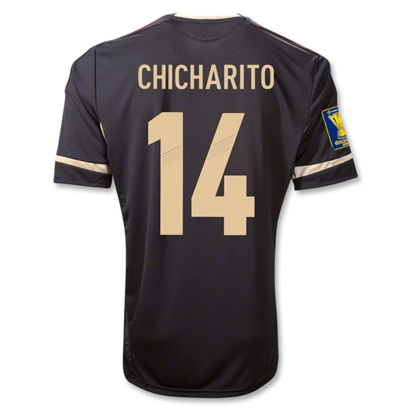 Mexico 11/12 CHICHARITO Away Soccer Jersey
