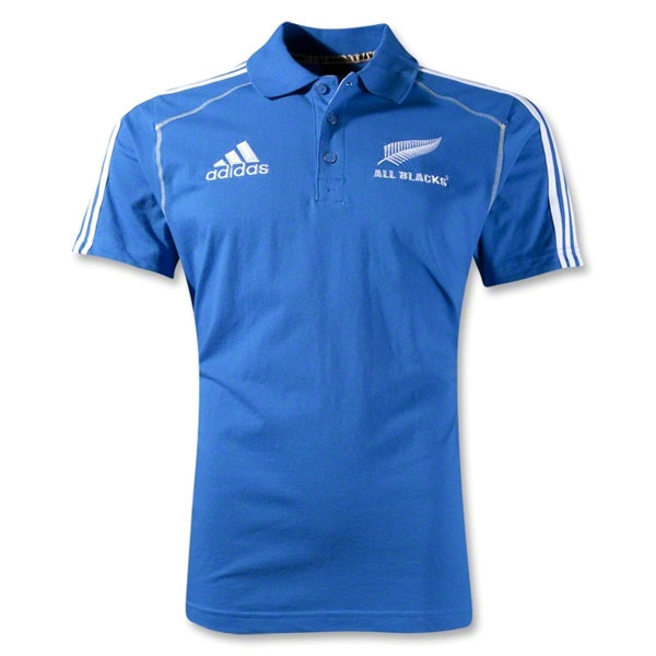 All Blacks 12/13 Supporter Polo (Blue)