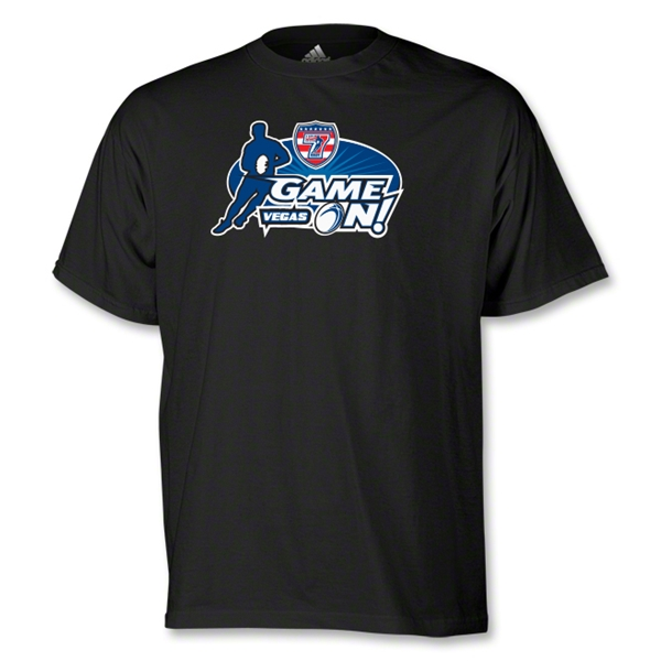 adidas USA Sevens Game On T-Shirt (Black)