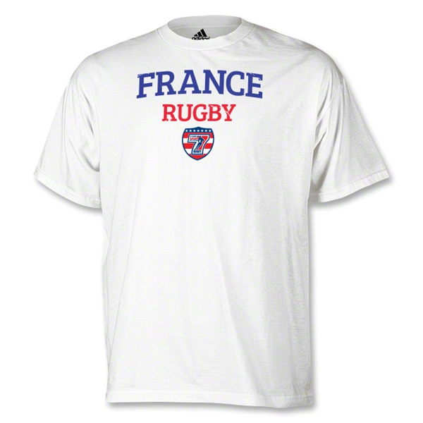 adidas USA Sevens France Rugby T-Shirt (White)