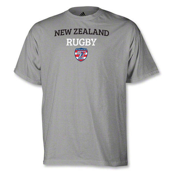 adidas USA Sevens New Zealand Rugby T-Shirt (Gray)