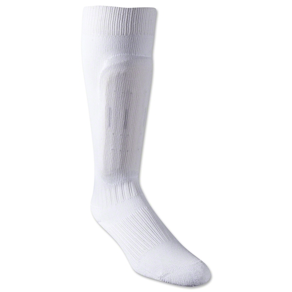 Pro Feet Armadillo Performance Sock with Permanent Pad (White)